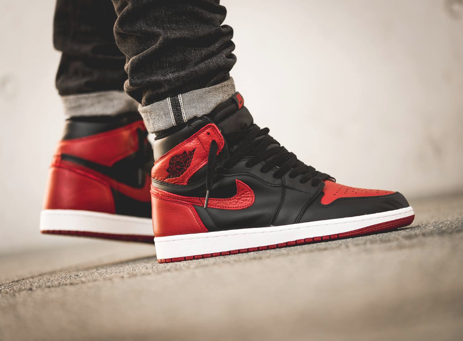 avis basket Air Jordan 1 High OG Bred 2016 (3)