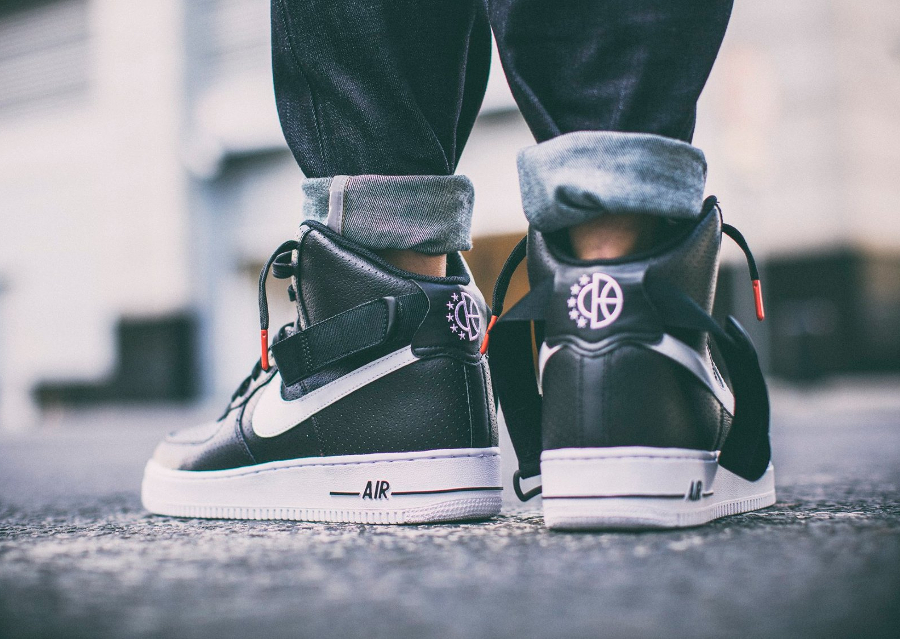 avis basket Nike Air Force 1 High 07 Perf Black Dream Team (noire)
