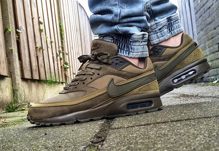 avis basket Nike Air Max BW Classic PRM Olive Flak - @maikelboeve