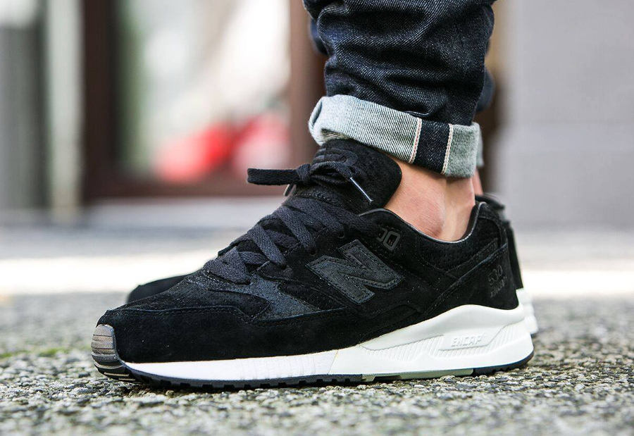 avis basket Reigning Champ x New Balance M530 Gym Pack Black (daim noir) (1)