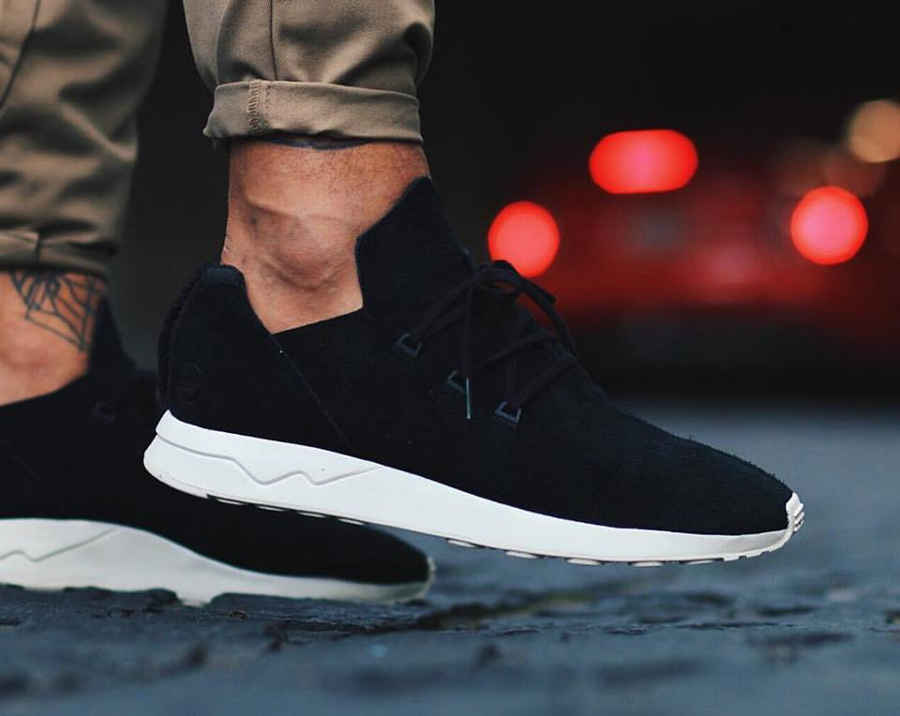 avis basket Wings + Horns x Adidas ZX Flux ADV 'Core Black'