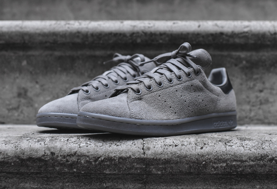 adidas stan smith noir daim