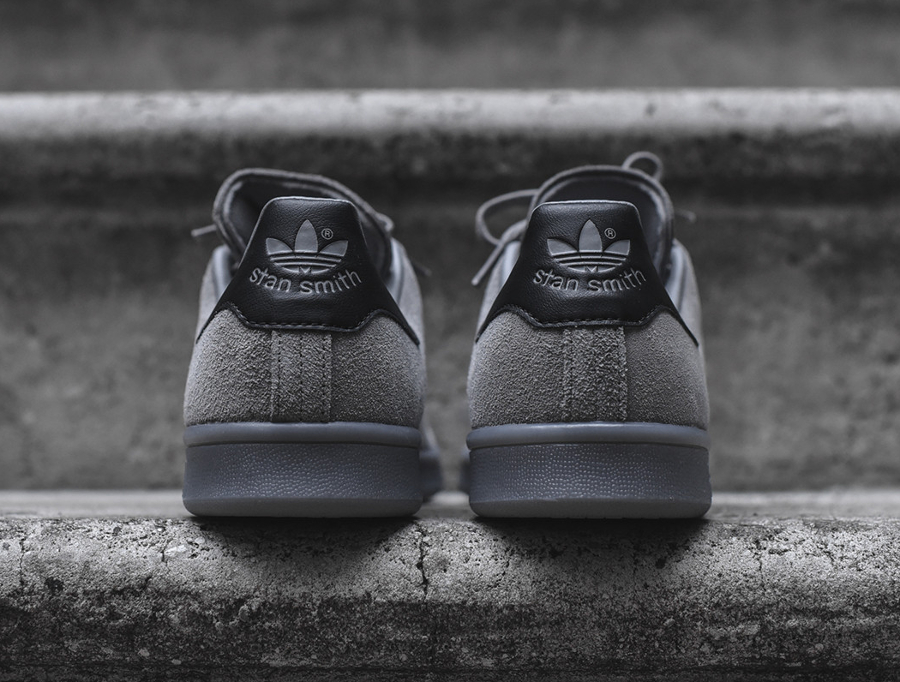 adidas stan smith suede gris