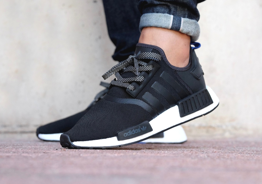 basket-adidas-nmd-r1-black-rope-laces-noir-