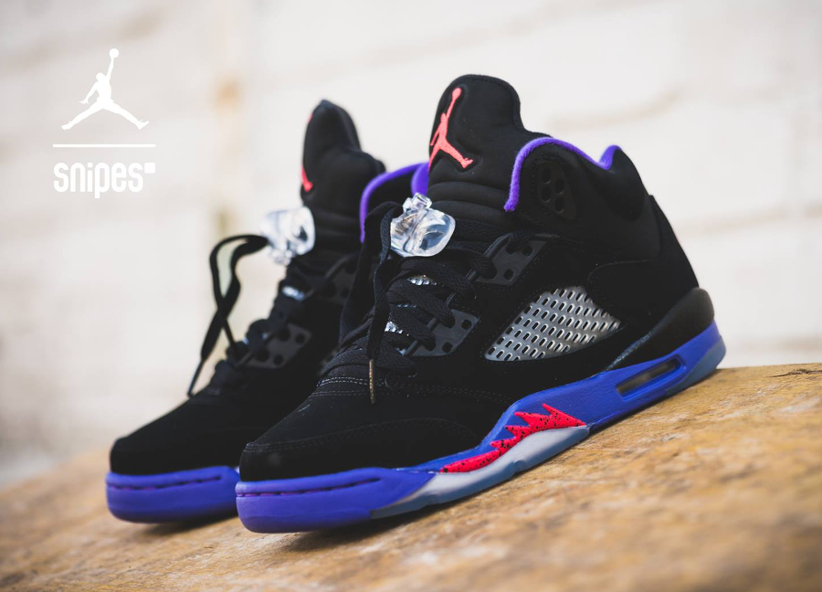 Air Jordan 5 Retro 'Fierce Purple'