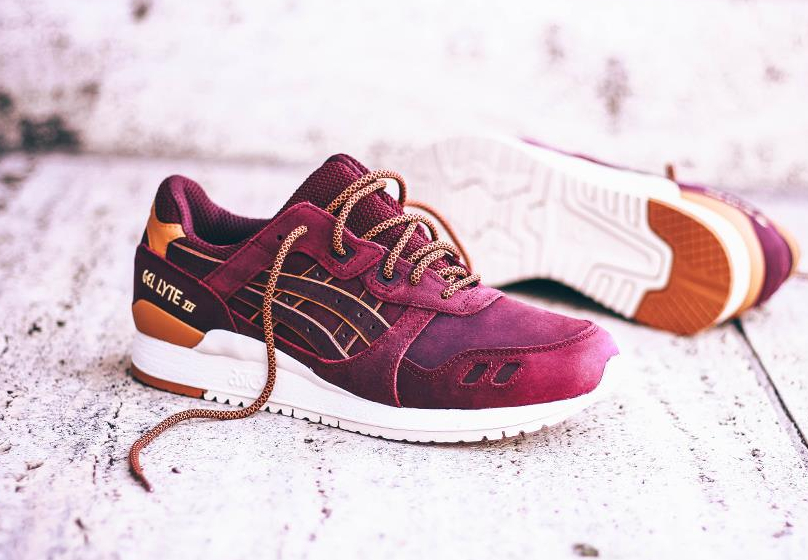 Asics Gel Lyte III 'Rioja Red'