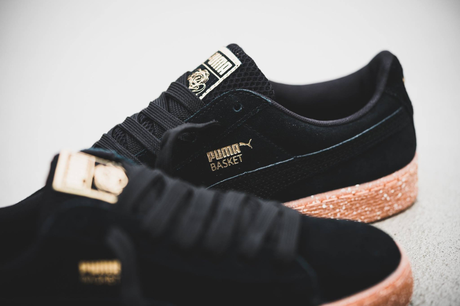 X Basket Careaux 'speckled Suede Black Midsole' Puma Wmns wXOuTkPZi
