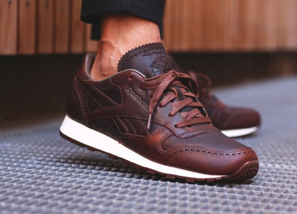 Horween x Reebok Classic Leather 'Just Brown'