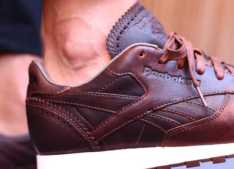avis basket reebok classic leather lux horween brogue just