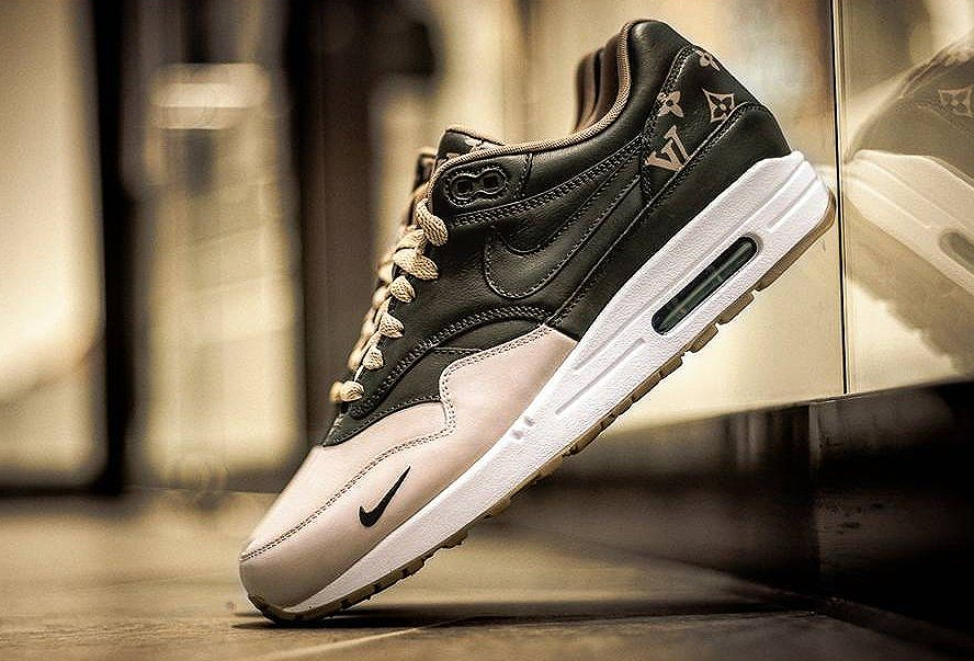 Louis Vuitton x Nike Air Max 1 'Mini Swoosh' | Sneakers actus