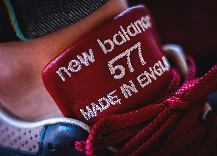 New Balance 577 'Burgundy' (Made in England)