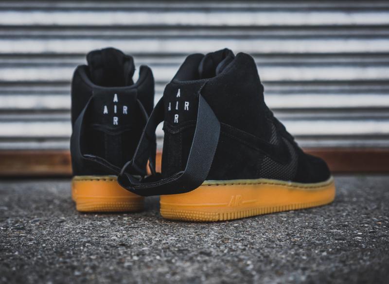 premium selection 6bb26 a6898 chaussure-nike-air-force-1-black-gum-daim-