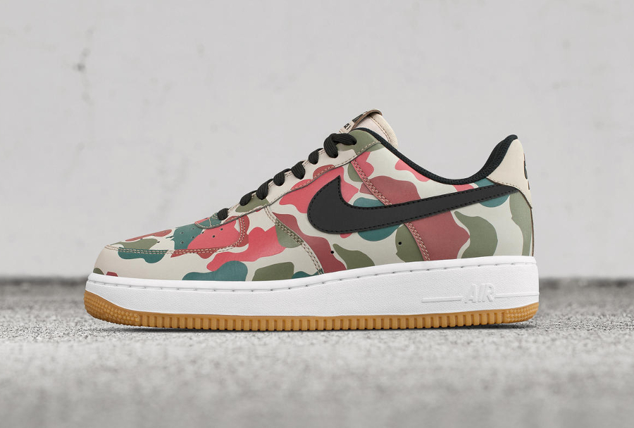 Nike Air Force 1 'Reflective Duck Camo'