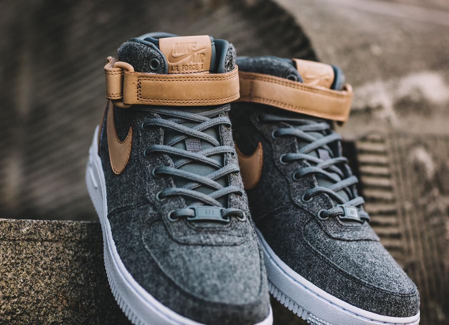 Nike Wmns Air Force 1 '07 Mid Premium 'Oatmeal'