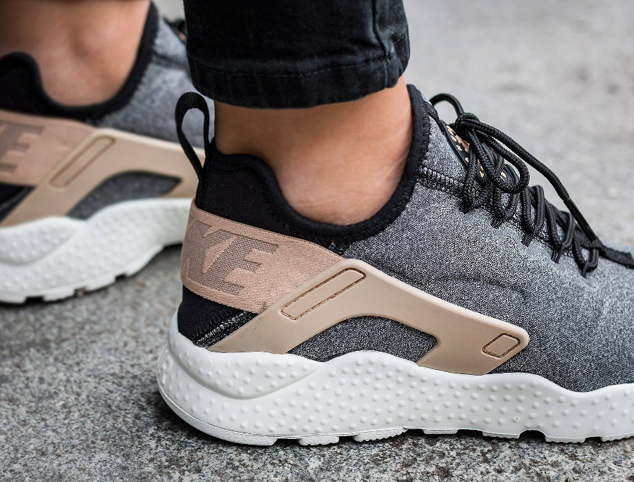 outlet store a82cf 7ee0a chaussure,nike,air,huarache,ultra,laine,grise,pour, ...