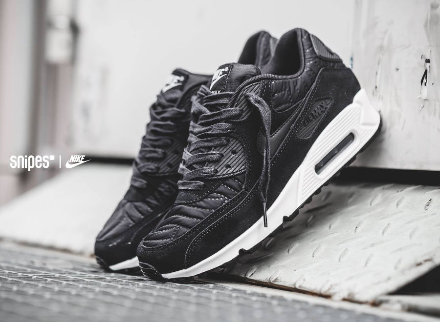 the best attitude 4ebe6 309f7 Où trouver la Nike Wmns Air Max 90 'Black Quilted Nylon' ?