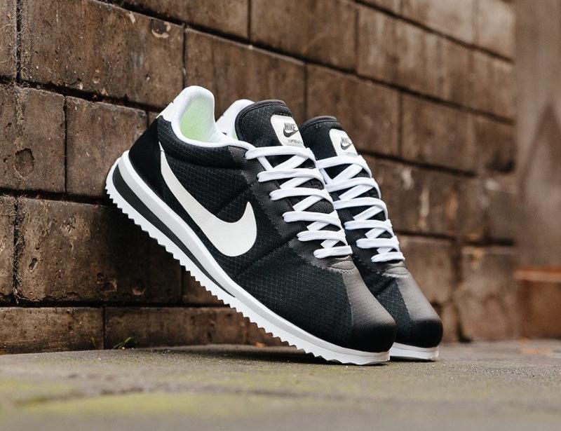 Nike Cortez Ultra 'Black White Volt'
