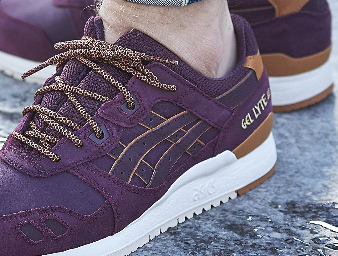 online retailer e8439 6d112 Où trouver la Asics Gel Lyte 3 Leather 'Rioja Red' (Winter ...