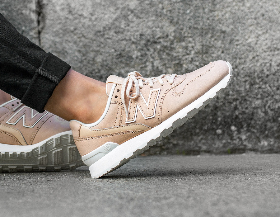new balance 996 beige leather
