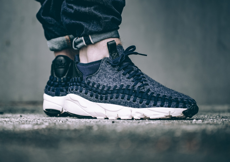 La collection Nike Air Footscape Woven Chukka SE 'Wool'