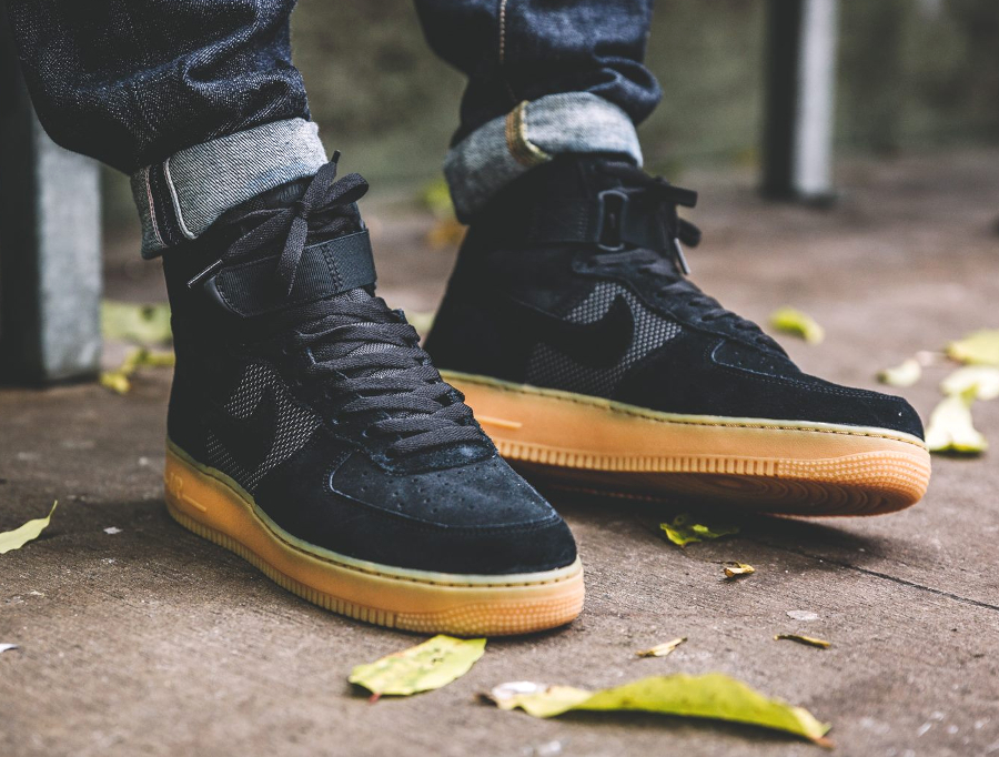 Nike Air Force 1 Hi 'Black Gum'
