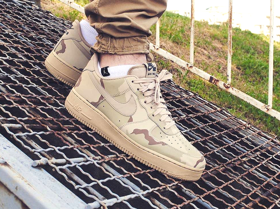 Nike Air Force 1 Low 07 LV8 Sand 'Desert' Camo Reflective