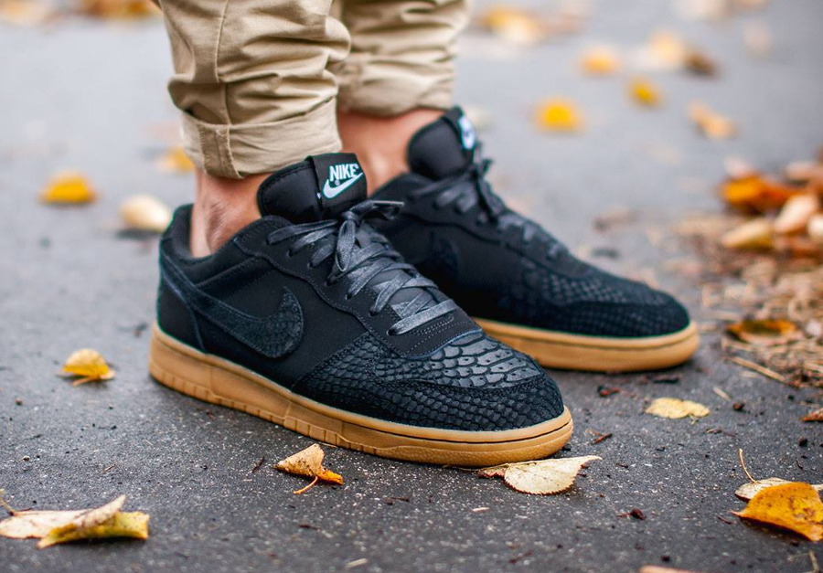 Nike Big Lux Low 'Black Snake Gum'