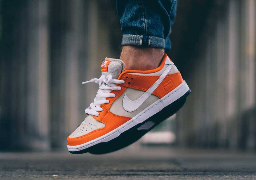 Nike Dunk Low SB Premium 'Safety Orange Cream'