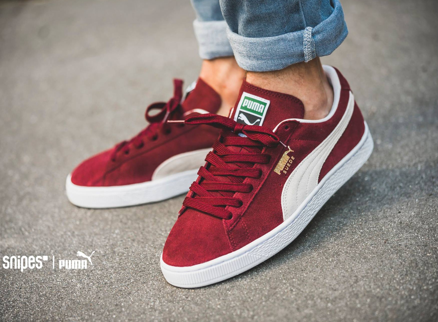 basket puma daim bordeaux
