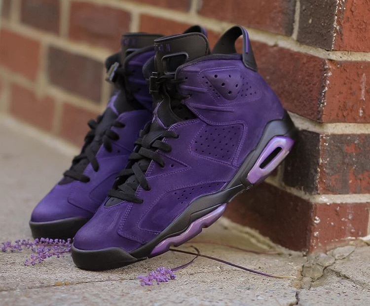 Air Jordan 6 Retro Suede 'What The Purples'