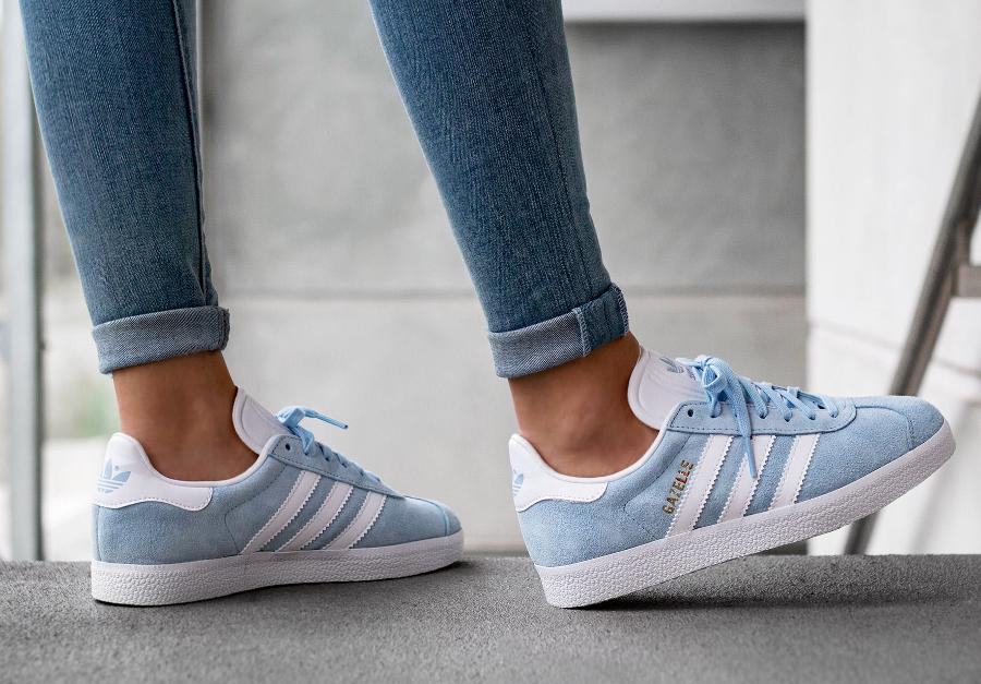 Adidas Gazelle Suede 'Clear Sky' (homme & femme)
