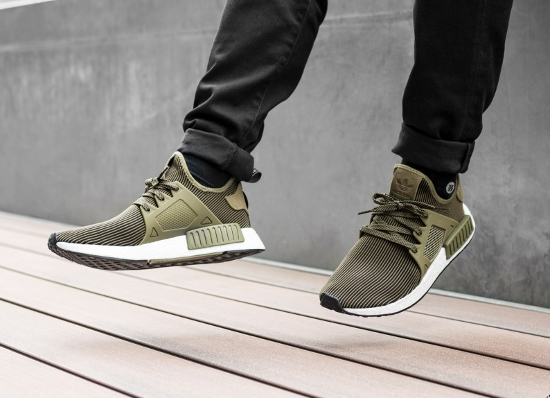 Chaussures vert olive