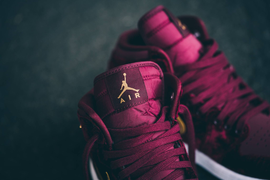High Gs Night Prm Retro 1 Maroon Air Gold 'velvet' Jordan 6SnOtt