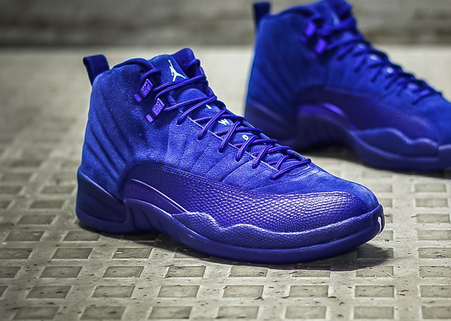 Air Jordan 12 Retro Premium 'Deep Royal Blue Suede'