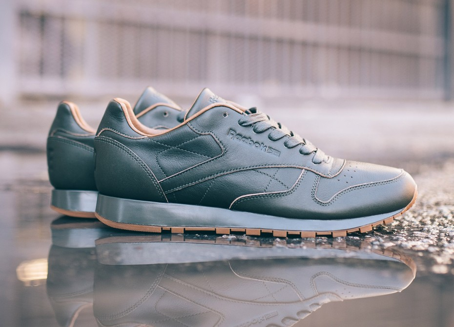 Kendrick Lamar x Reebok Classic Leather Lux 'Olive Gum' (Blue & Red)