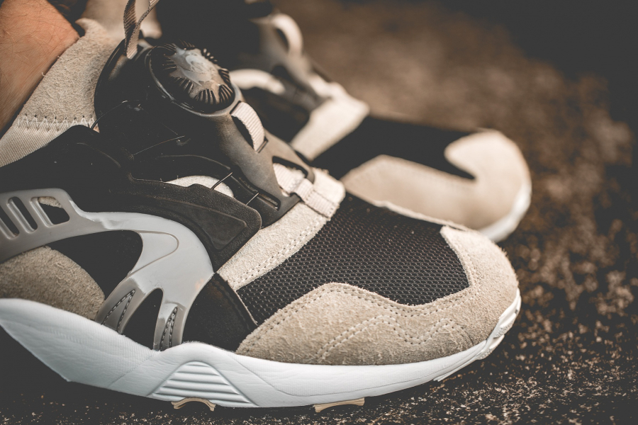 Kicks Lab x Puma Disc Blaze 'Desert Trooper' Cream Tan