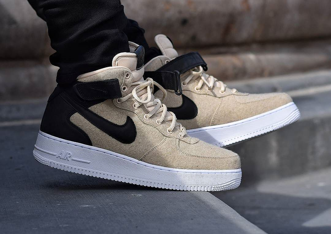 nike air force one mid femme