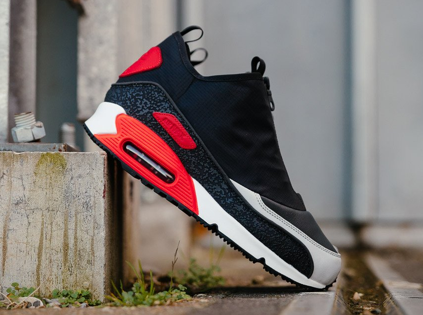 Nike Air Max 90 Utility 'Zip' OG Black Infrared