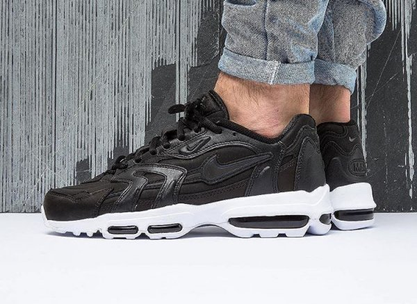 Le pack NikeLab Air Max 96 XX Premium SP 'Black Leather'