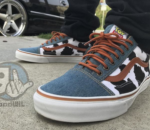 Toy Story x Vans Old Skool Denim 'Woody' Cow
