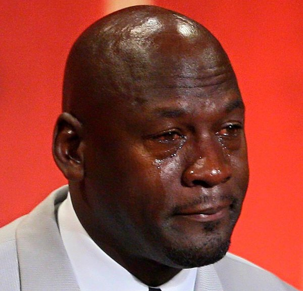 Le Michael Jordan Crying meme en 20 images