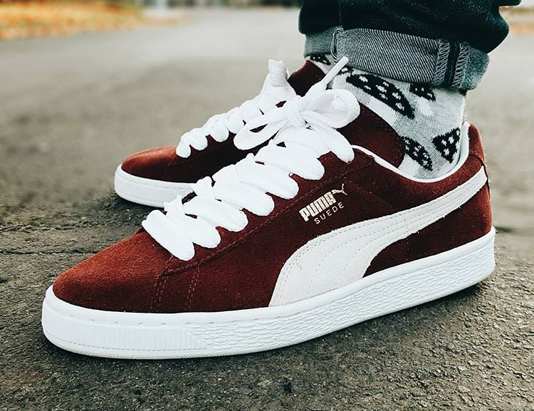 new product c718b 01f03 Puma Suede 'Burgundy Gold' (#SDJ 30/11/2016) | Sneakers-actus