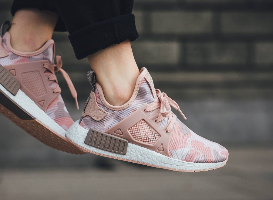 Adidas NMD XR1 W 'Pink' Duck Camo