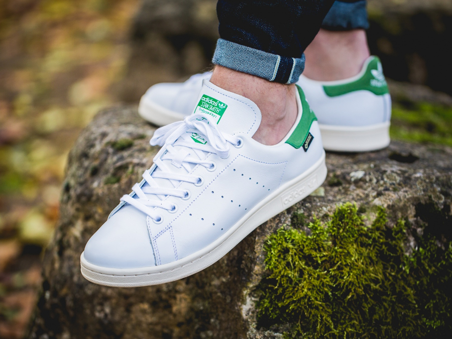 avis-basket-adidas-stan-smith-gtx-gore-tex-og-white-green