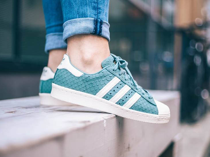 Adidas Superstar W 80 s  Snake Scales  Vapour Steel   où la trouver   503daa735183
