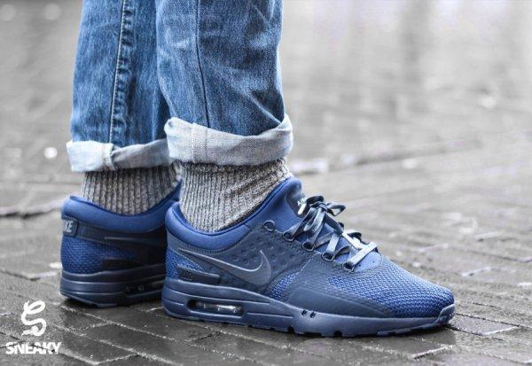 Nike Air Max Zero QS 'Tonal' Cool Grey & Binary Blue