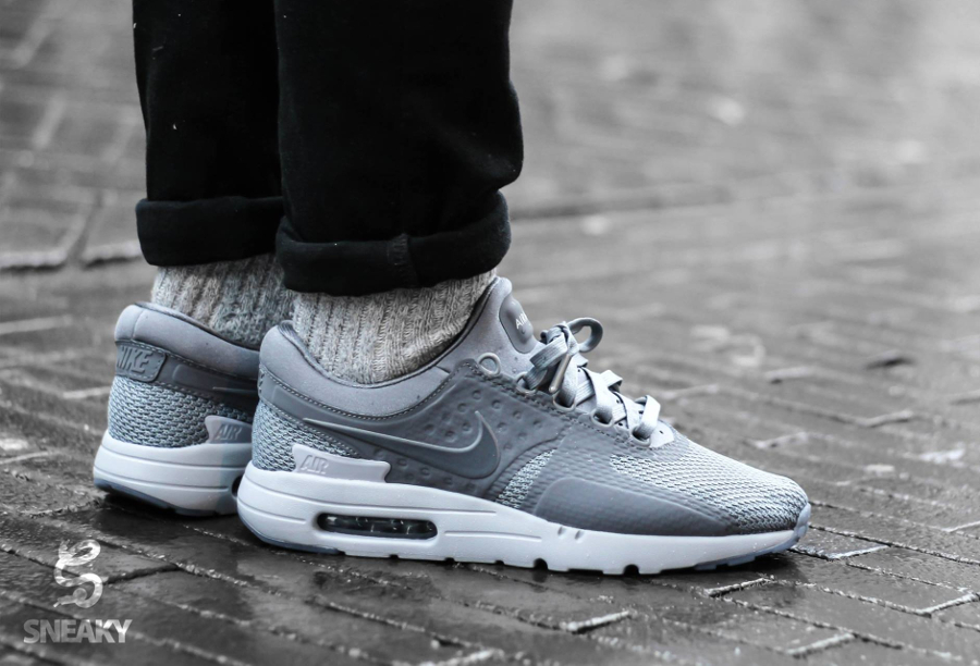 Nike Air Max Zero QS 'Tonal' Cool Grey & Binary Blue