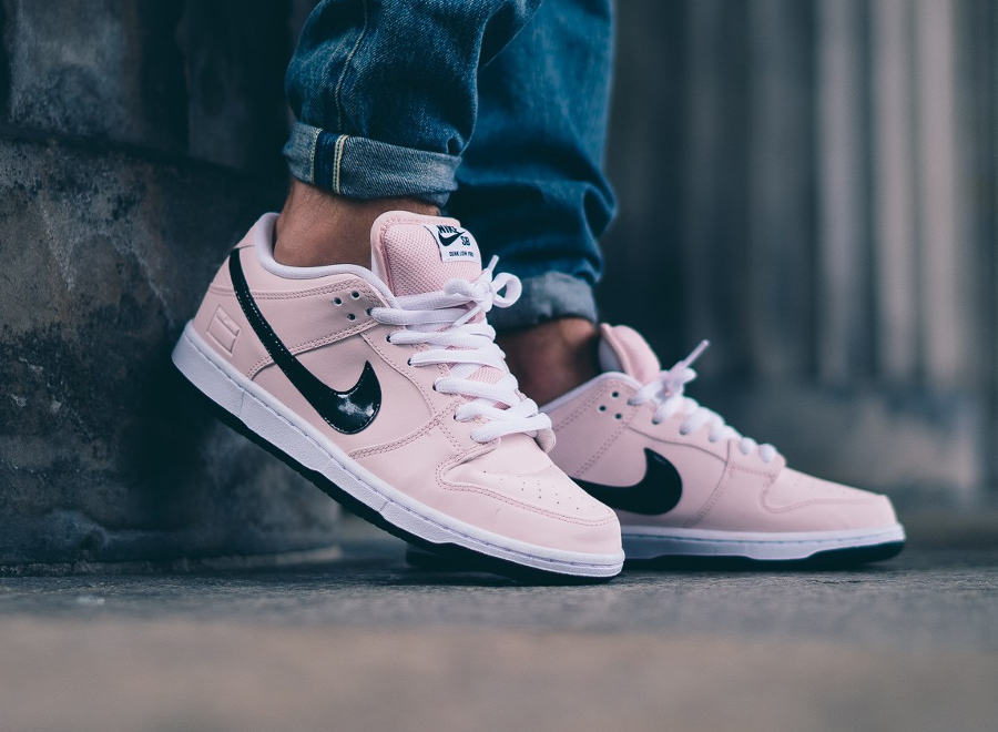 new product b8c48 1885a shop nike sb dunk low premium pink box 3cd39 4af5d