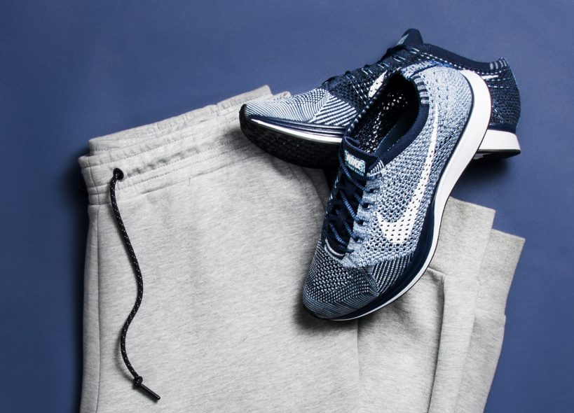 25a28d047a16 nike hand indigo dyed flyknit racer for 2020