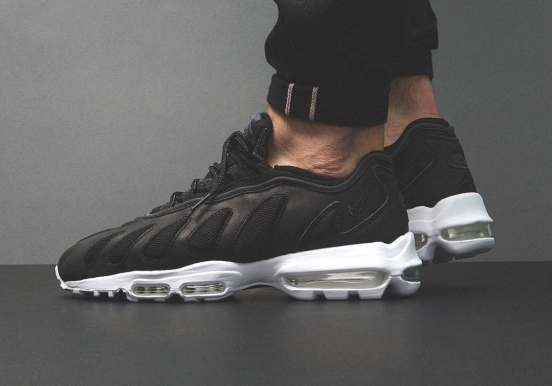 NikeLab Air Max 96 XX Premium SP 'Black Leather' | Sneakers
